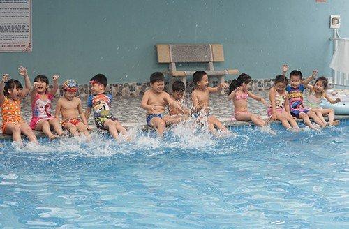 Một giờ học bơi của học sinh Trường mầm non CGD Victory