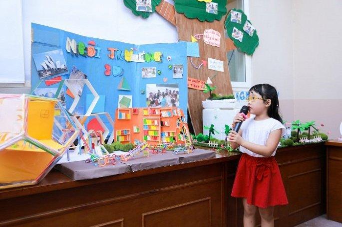 Điểm nhấn của sự kiện là phần trưng bày và thuyết trình về Ngôi trường mơ ước do các bạn học sinh của CGD Victory tự lên ý tưởng và thực hiện.