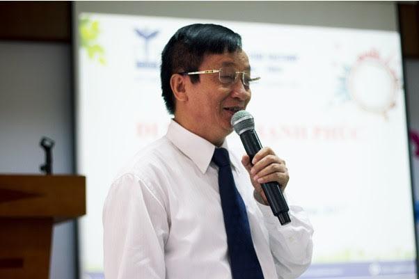 """Hiệu trưởng trường Tiểu học CGD Victory - NGƯT Lê Tiến Thành chia sẻ về phương pháp giáo dục hướng tới """"Tôn trọng sự khác biệt"""" trong nhà trường."""