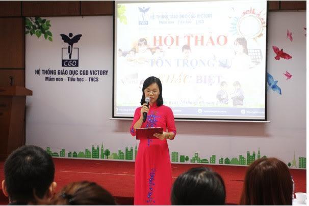 """Hội thảo: """"Tôn trọng sự khác biệt - Điều cha mẹ cần biết"""" giúp phát huy và tối ưu khả năng tiềm ẩn của trẻ."""